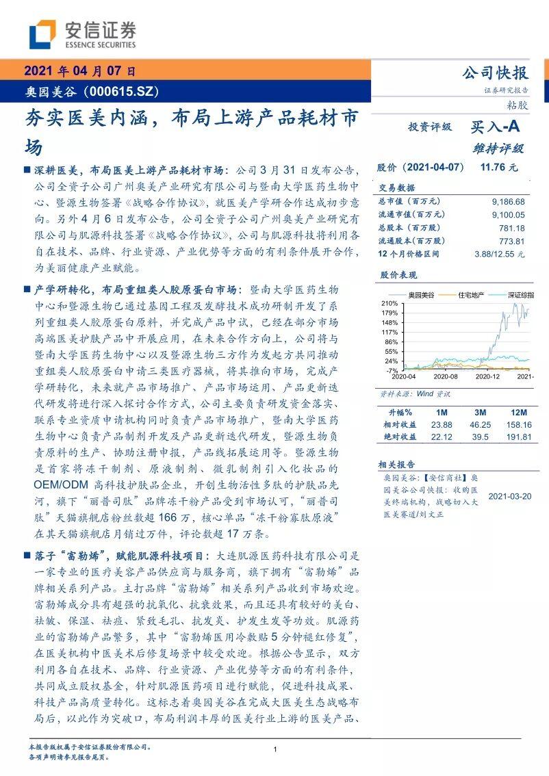 研报丨积极布局医美产品端 奥园美谷获兴业、民生、安信关注2.jpg